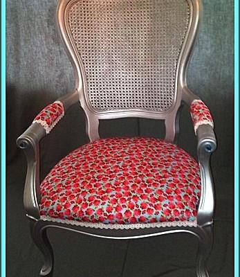 roosjes barok stoel