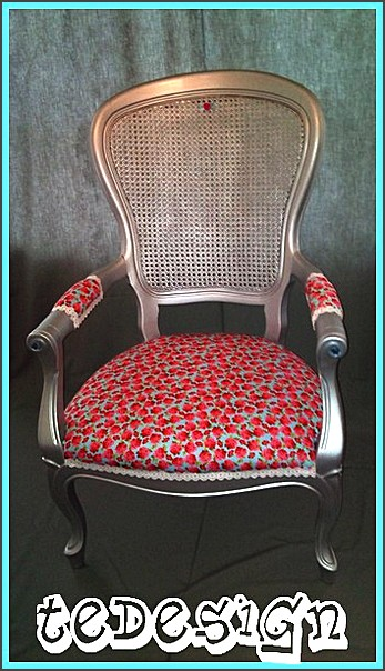 zilveren barok fauteuil te design. Black Bedroom Furniture Sets. Home Design Ideas