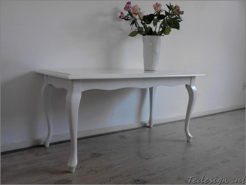 witte queen ann salontafel nu  u20ac160 Gratis thuisbezorgd in NL