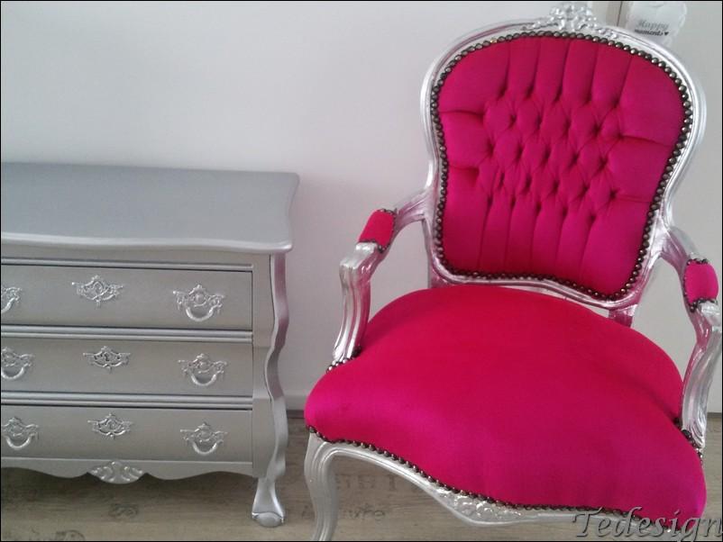 Barok stoel met buikkastje setprijs 279 for Chaise longue barok