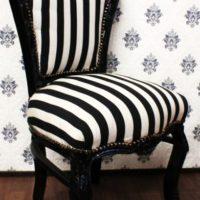 barok stoelen krijtstreep
