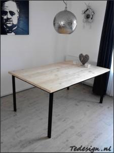 steigerhouten eettafel 170x100 cm