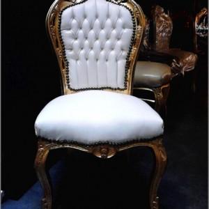 barok stoel wit eetkamer