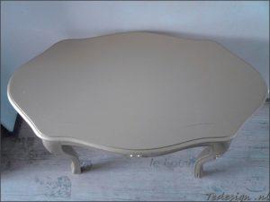 barok salontafeltje-bijzettafel