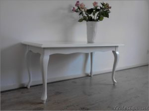 salontafel queen ann in wit €149 tedesign.nl