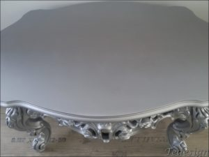 barok salontafel zilver