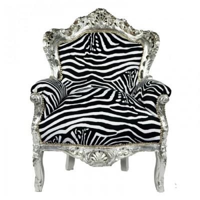 barok troon zebra
