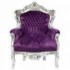 paarse barok troon