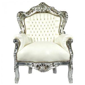 barok troon wit skai