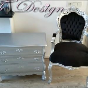 buikkast barok spiegel barok stoelen