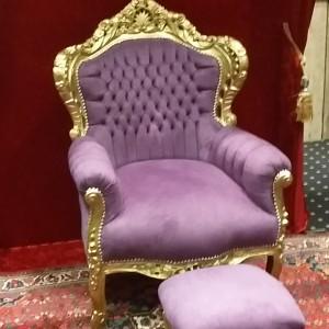 barok-troon-paars-goud