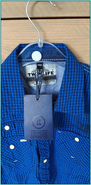 twinlife blauwe blouses