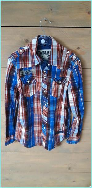 twinlife blouse jongens maat 152
