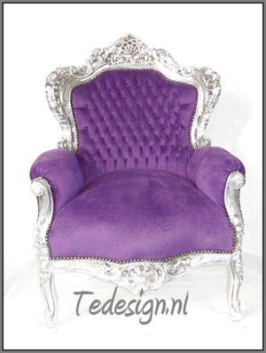 barok troon paars