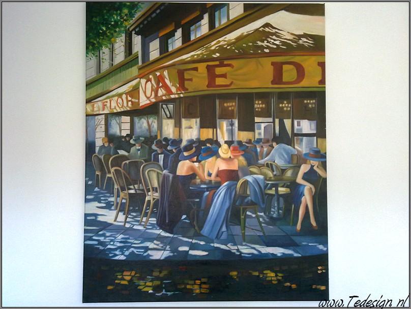 terras schilderij